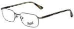 Persol Designer Eyeglasses PO2431V-997-53 in Gunmetal 53mm :: Rx Bi-Focal