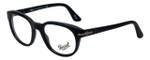 Persol Designer Eyeglasses PO3052V-9000 in Black 50mm :: Custom Left & Right Lens