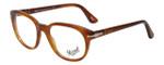 Persol Designer Eyeglasses Terra di Siena PO3052V-96 in Honey 52mm :: Custom Left & Right Lens