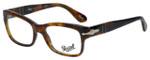 Persol Designer Eyeglasses Caffè PO3054V-108-51 in Tortoise 51mm :: Custom Left & Right Lens