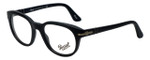Persol Designer Eyeglasses PO3052V-9000 in Black 50mm :: Rx Single Vision