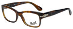 Persol Designer Eyeglasses Caffè PO3054V-108-51 in Tortoise 51mm :: Rx Single Vision