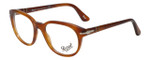 Persol Designer Eyeglasses Terra di Siena PO3052V-96 in Honey 52mm :: Progressive
