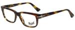 Persol Designer Eyeglasses Film Noir Edition PO3073V-938 in Green Striped Brown 52mm :: Custom Left & Right Lens