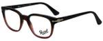 Persol Designer Eyeglasses PO3093V-9025-50 in Tortoise Red Gradient 50mm :: Custom Left & Right Lens
