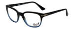 Persol Designer Eyeglasses PO3093V-9026 in Black Blue Gradient 50mm :: Custom Left & Right Lens