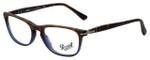 Persol Designer Eyeglasses Terra e Oceano PO3116V-9033 in Havana Blue Gradient 52mm :: Custom Left & Right Lens