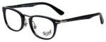 Persol Designer Eyeglasses PO3126V-95 in Black 50mm :: Custom Left & Right Lens