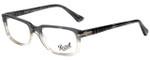 Persol Designer Eyeglasses PO3130V-1039 in Transparent Grey Gradient 52mm :: Custom Left & Right Lens
