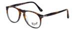 Persol Designer Eyeglasses Fuoco e Ardesia PO9649V-1023 in Tortoise Grey Gradient 50mm :: Custom Left & Right Lens
