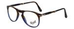 Persol Designer Eyeglasses Terra e Oceano PO9714VM-1022 in Tortoise Blue Gradient 50mm :: Custom Left & Right Lens