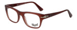 Persol Designer Eyeglasses Film Noir Edition PO3070V-1002 in Dark Red Opalin 52mm :: Rx Single Vision