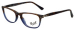 Persol Designer Eyeglasses Terra e Oceano PO3116V-9033 in Havana Blue Gradient 52mm :: Rx Single Vision