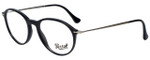 Persol Designer Eyeglasses PO3125V-95 in Shiny Black 51mm :: Rx Single Vision