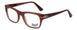 Persol Designer Eyeglasses Film Noir Edition PO3070V-1002 in Dark Red Opalin 52mm :: Progressive