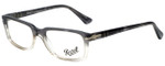 Persol Designer Eyeglasses PO3130V-1039 in Transparent Grey Gradient 52mm :: Progressive