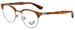 Persol Designer Eyeglasses Terra di Siena PO8129V-96-50 in Honey 48mm :: Progressive