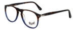 Persol Designer Eyeglasses Fuoco e Oceano PO9649V-1022-50 in Tortoise Blue Gradient 50mm :: Progressive