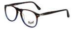 Persol Designer Eyeglasses Fuoco e Oceano PO9649V-1022-52 in Tortoise Blue Gradient 52mm :: Progressive