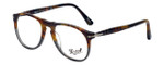 Persol Designer Reading Glasses Fuoco e Ardesia PO9649V-1023 in Tortoise Grey Gradient 50mm