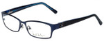 Nicole Miller Designer Eyeglasses Bowery-03 in Indigo Black 53mm :: Progressive