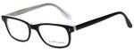 Ernest Hemingway Designer Eyeglasses H4617 in Black-Clear 52mm :: Progressive
