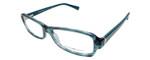 Emporio Armani Designer Eyeglasses EA3016-5101 in Blue Green 51mm :: Rx Single Vision