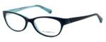 Emporio Armani Designer Eyeglasses EA3008-5052 51mm in Black Azure :: Custom Left & Right Lens