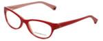 Emporio Armani Designer Eyeglasses EA3008-5053 53mm in Striped Cherry/Opal Pink 51mm :: Rx Single Vision
