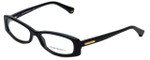 Emporio Armani Designer Eyeglasses EA3007-5017 in Black 53mm :: Custom Left & Right Lens