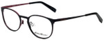 Eddie Bauer Designer Reading Glasses EB32205-BK in Black with Blue Light Filter + A/R Lenses