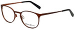 Eddie Bauer Designer Reading Glasses EB32205-BR in Brown with Blue Light Filter + A/R Lenses