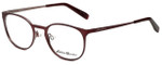 Eddie Bauer Designer Reading Glasses EB32205-WI in Wine with Blue Light Filter + A/R Lenses