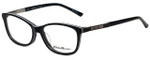 Eddie Bauer Designer Reading Glasses EB32209-BK in Black with Blue Light Filter + A/R Lenses