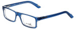 Arnette Reading Glasses Lo-Fi AN7060-1130 in Translucent Blue with Blue Light Filter + A/R Lenses
