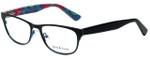 Ana & Luca Designer Reading Glasses Chiara in Black with Blue Light Filter + A/R Lenses
