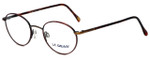LA Gear Designer Reading Glasses Golden Gate in Tortoise with Blue Light Filter + A/R Lenses