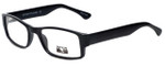 Gotham Style Reading Glasses G232 in Black with Blue Light Filter + A/R Lenses