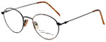 Calabria Designer Reading Glasses Seb-782 in Tortoise Black with Blue Light Filter + A/R Lenses