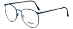 Liberty Optical Reading Glasses LA-4C-4-53 in Blue Marble with Blue Light Filter + A/R Lenses