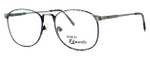 Fashion Optical Reading Glasses E2038 in Grey Demi & Antique Pewter with Blue Light Filter + A/R Lenses