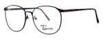 Fashion Optical Reading Glasses E126 in Russet with Blue Light Filter + A/R Lenses