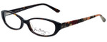Vera Bradley Reading Glasses Addison-MRG in Mocha Rouge with Blue Light Filter + A/R Lenses