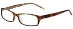 Calabria Designer Eyeglasses 819-TOR in Tortoise 52mm :: Rx Single Vision