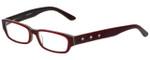 Calabria Designer Eyeglasses 820-RED in Red 50mm :: Rx Bi-Focal