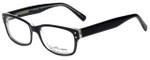 Ernest Hemingway Designer Reading Glasses H4604 in Black Crystal 53mm