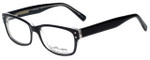 Ernest Hemingway Designer Eyeglasses H4604 in Black Crystal 53mm :: Rx Single Vision