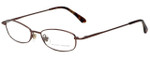 Marchon Designer Reading Glasses M515-249 in Brown 49mm