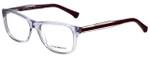 Emporio Armani Designer Eyeglasses EA3001-5071-52 in Violet Transparent 52mm :: Custom Left & Right Lens