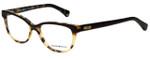 Emporio Armani Designer Eyeglasses EA3015-5107-53 in Havana Brown 53mm :: Custom Left & Right Lens